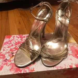 Chinese Laundry Legendary Light Gold Heels